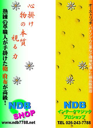 NDB・吊革広告B