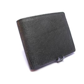 リザード二つ折り財布・Wカード